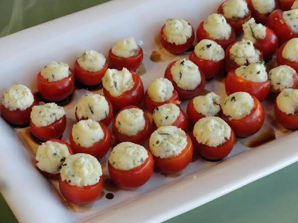 Stuffed Cherry Tomatoes Recipe