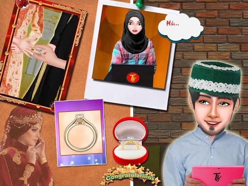 Muslim Hijab Wedding Girl Arranged Marriage Game 1.0.2 screenshots 2