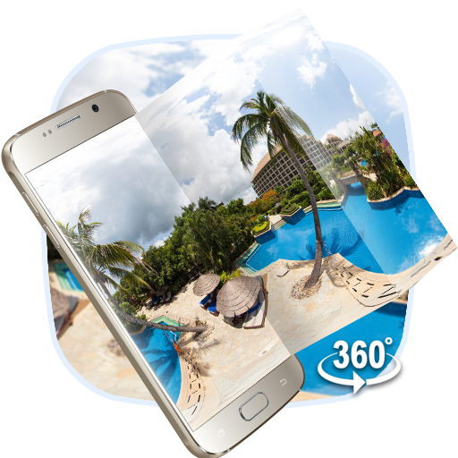 VR Panoramic Summer Sea Island 3D Theme