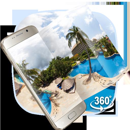 VR Panoramic Summer Sea Island 3D Theme