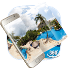 VR Panoramic Summer Sea Island 3D Theme icon