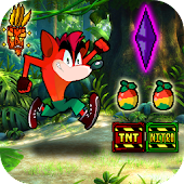 Crazy Run: Jungle Bandicoot