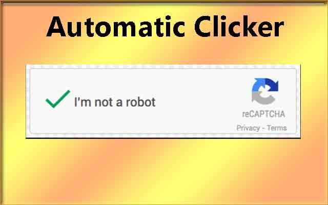 I'm not robot captcha clicker