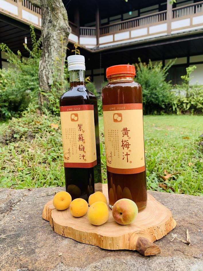 黃梅汁、紫蘇梅汁3瓶特惠組 (各500ml)