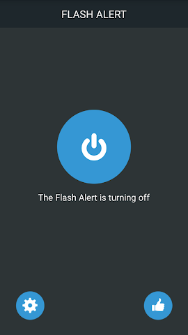 android Flash Alerts Pro on Call,  SMS Screenshot 0