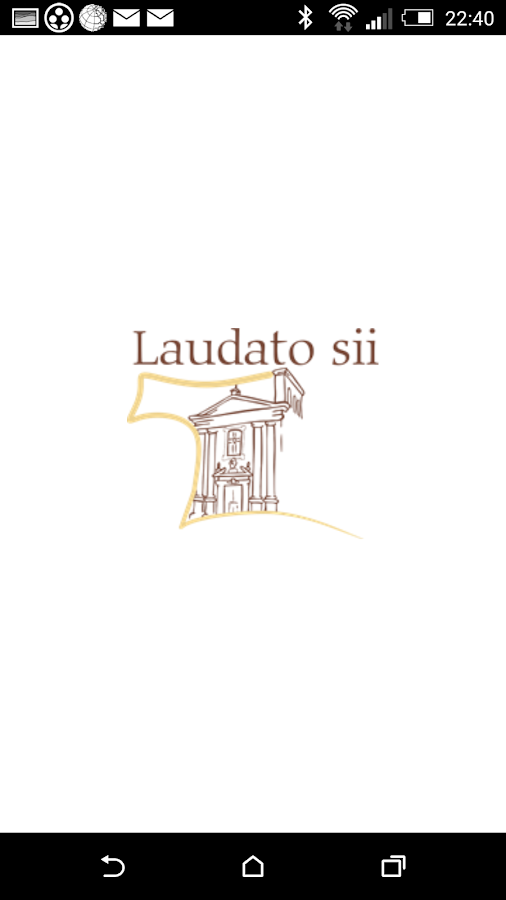 Laudato sii- screenshot