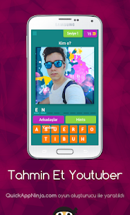 Game Tahmin Et Youtuber APK for Windows Phone
