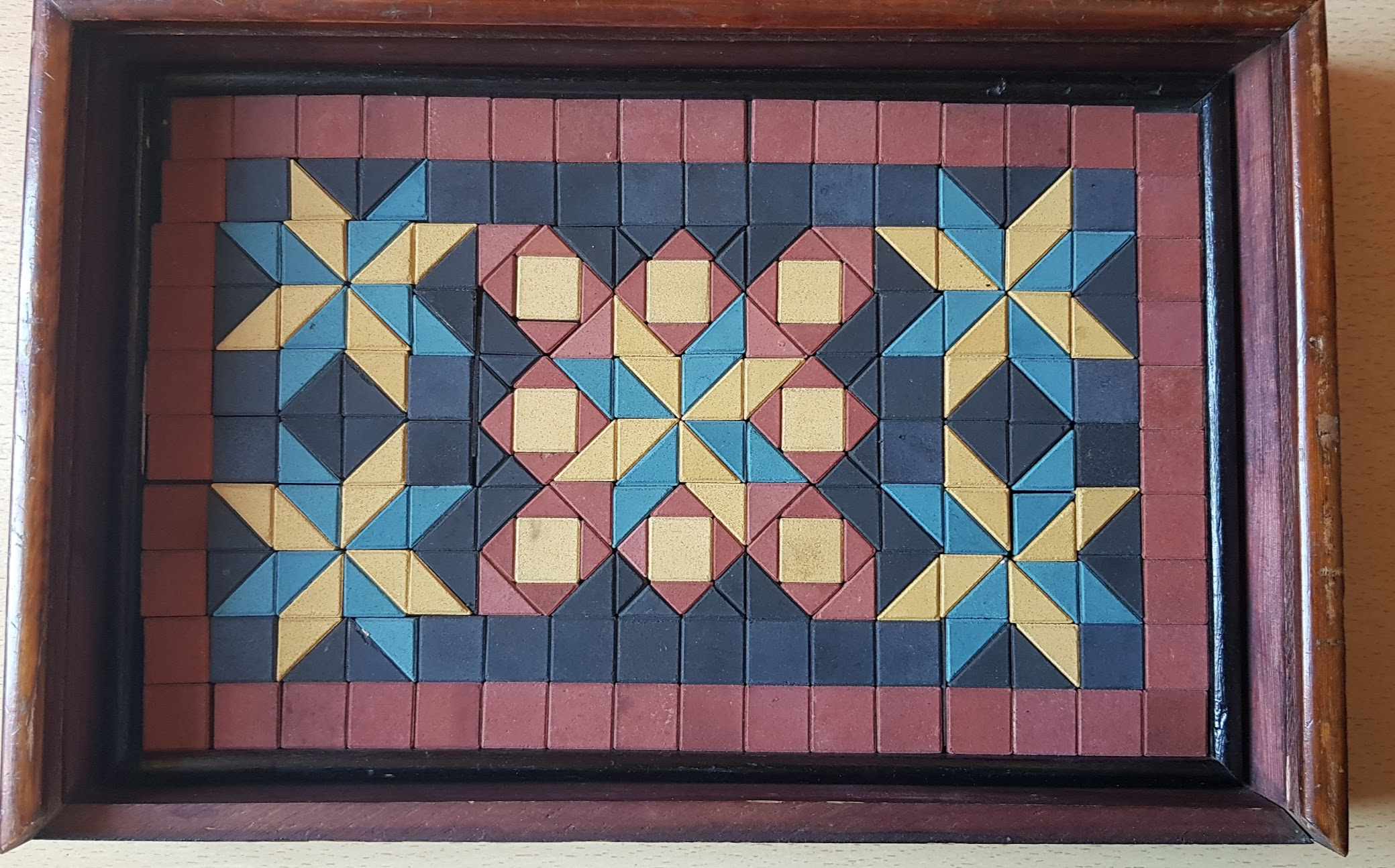 F. Ad. Richter - Anker Baukasten Mosaik No. 2 - 2. Lage
