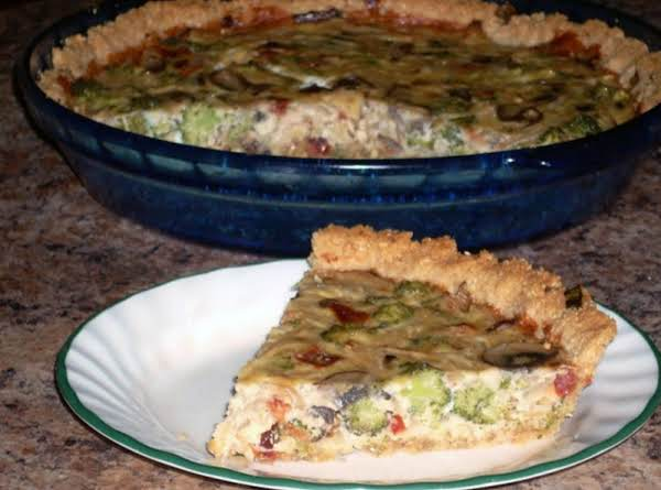 Savory Vegetable Quiche Recipe