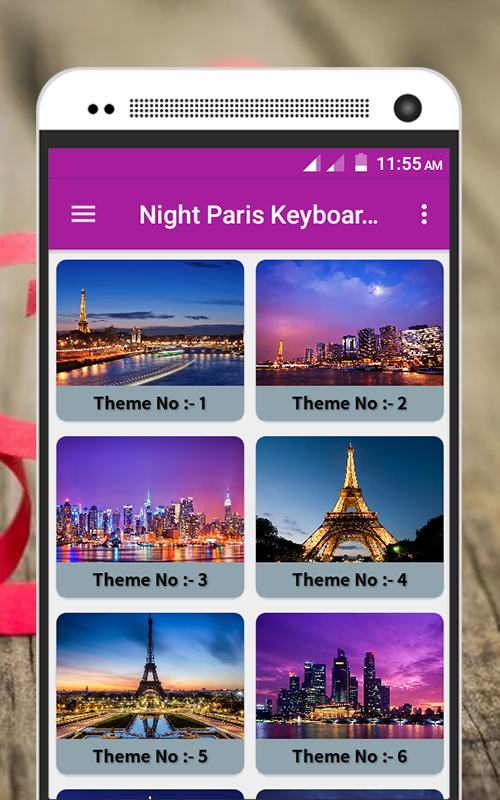 Night Paris Keyboard Theme Android Apps On Google Play