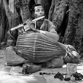 Baul by Soumen  Basu Mallick - People Musicians & Entertainers ( baul )