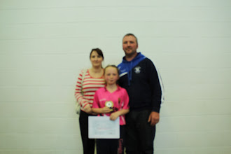 Photo: Eva, Aimee and Yogi Gallagher (Aimee won best girl in her class award!)