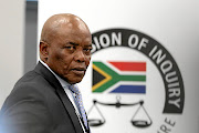 Former chief of state protocol  Bruce Koloane testifies at the state capture inquiry for the role he  played in  the Gupta plane that landed at Waterkloof Air Force Base.