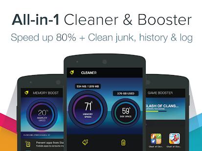 Cleaner - Master Speed Booster - screenshot thumbnail