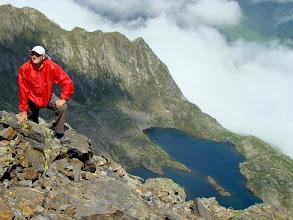 Photo: El Jefe posa en la cima.