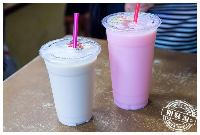 夏一跳早餐店鮮奶