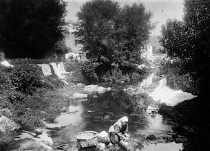 Photo: Lavando a  roupa