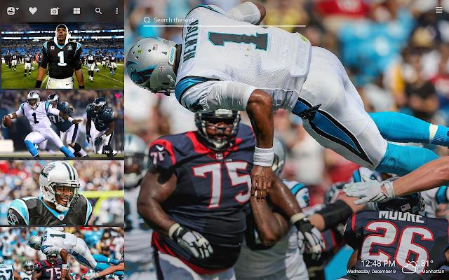 Cam Newton NFL HD Wallpapers New Tab Theme