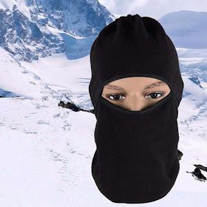Cagula cu protectie pentru gat - material polar