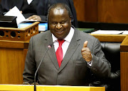 Finance minister Tito Mboweni brought the moves to the dance floor.