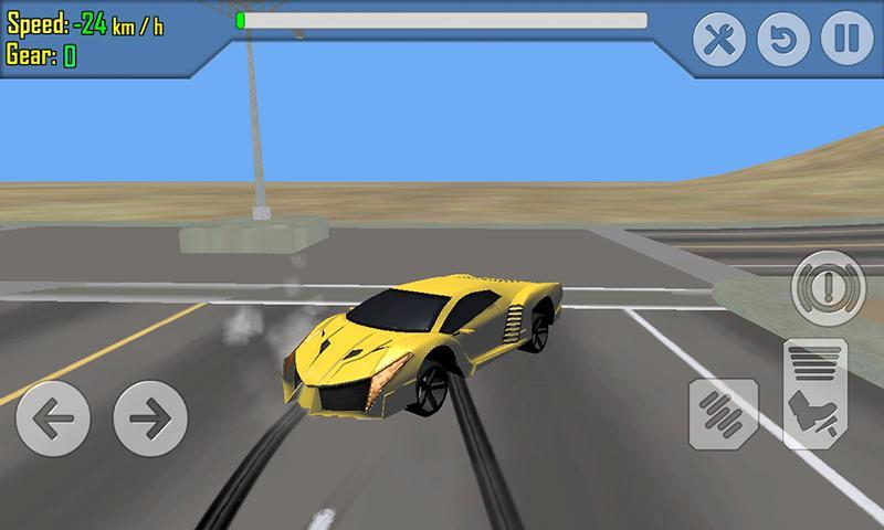 android Car Racing Simulator Driving Screenshot 2