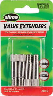 "Slime 1-1/4"" Schrader Valve Extenders: 4-Pack alternate image 0"