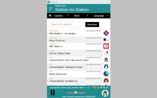 Radio Station-to-Station Ext