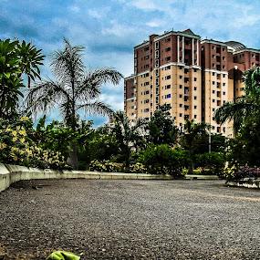 Touching the Sky by Rajarshi Das - City,  Street & Park  Neighborhoods
