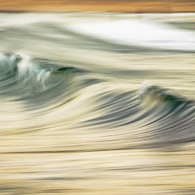 Shore Motion by James Vodicka - Landscapes Waterscapes ( water, shore, smooth, waterscape, ocean, beach, blur, landscape, coastal, liquid, surfing, movement, wave, manly, sunrise, barrel, surf, motion, mini, sydney, golden,  )