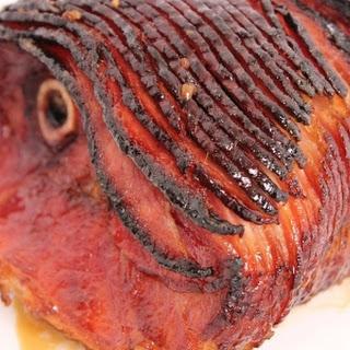 Honey Glazed Ham.