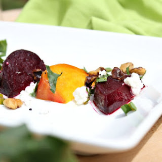 Roasted Beets and Goat Cheese Salad Recipe