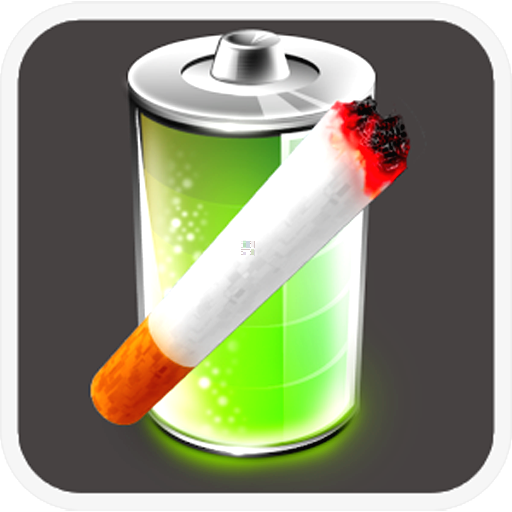娱乐のBattery Cigarette Widget LOGO-記事Game
