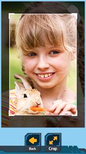 Bunny Photo Crop - náhled