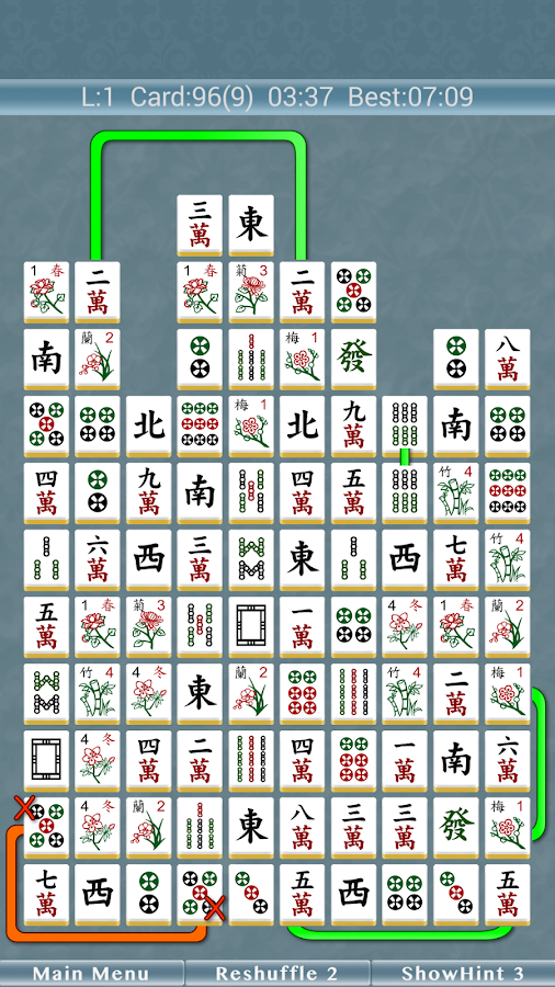 Mahjong Pair 2- screenshot