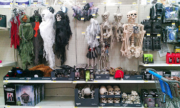Photo: Does anyone else think it's awesome that Halloween decor is in stores now? Yay!