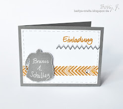 Photo: http://bettys-crafts.blogspot.de/2013/08/einladung-zu-brunos-1-schultag.html