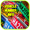 Vehicle Number Info icon