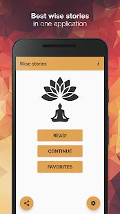 Download Wise stories  apk screenshot 1