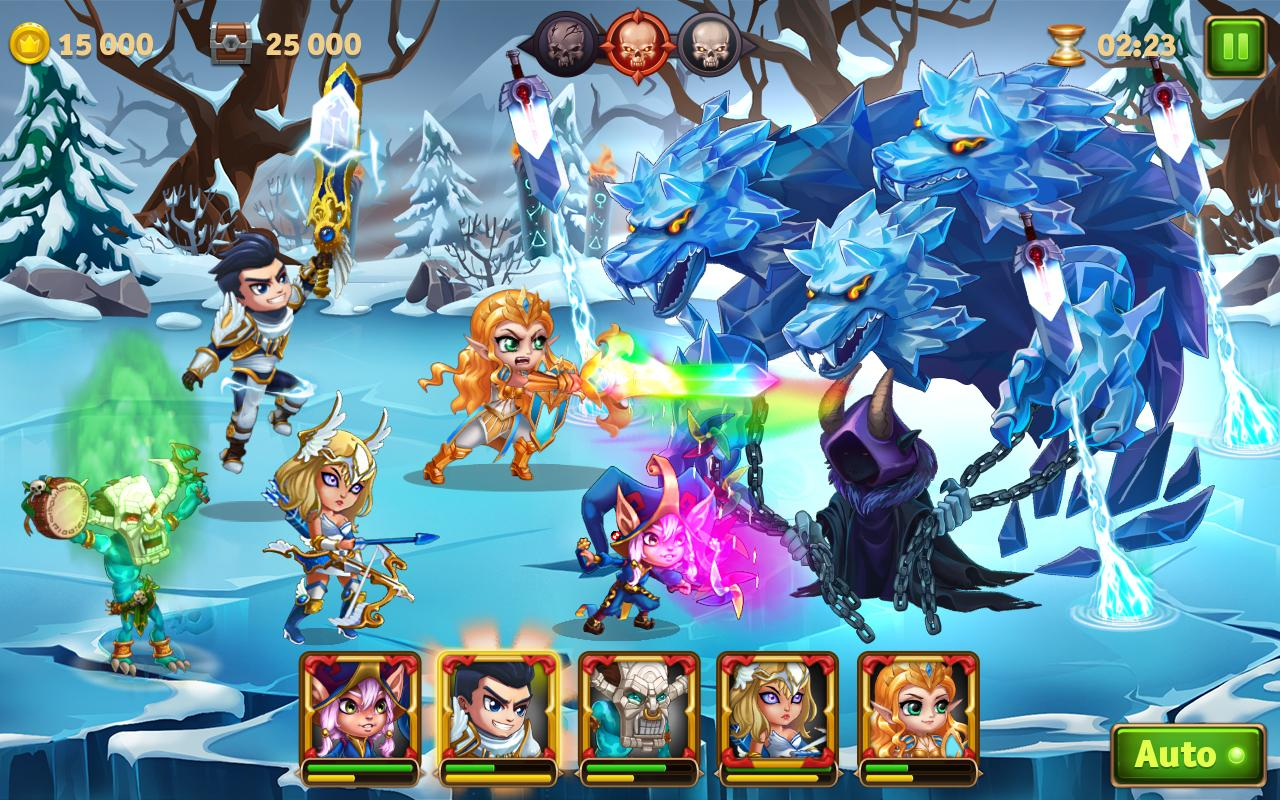 Hero Wars – Ultimate RPG Heroes Fantasy Adventure- screenshot