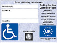 Newtown blue badge holders warned over renewals