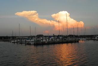 Photo: Crisfield sunset
