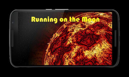 Running on the Moon
