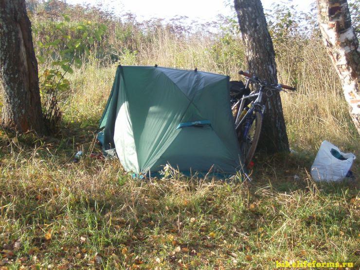 Палатка red fox для велопутешествий