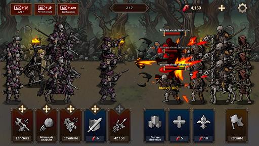 Code Triche King's Blood: La Défense apk mod screenshots 6