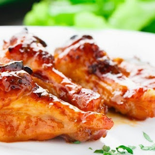 Baked Orange Chicken Wings