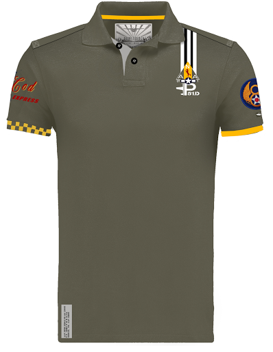 MUSTANG P51 barnstormer capcod polo men collection