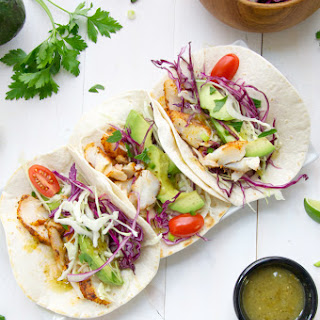 Blackened Cod Fish Tacos