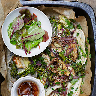 Roast Artichoke Salad