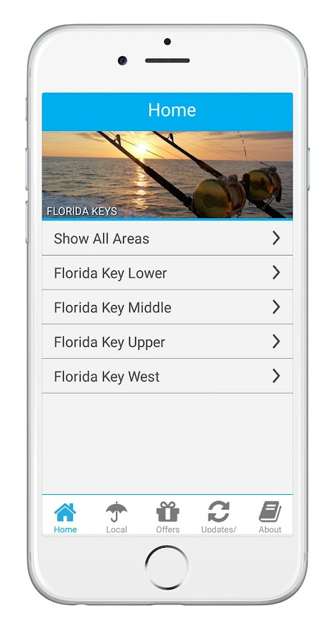 Florida Keys App- screenshot