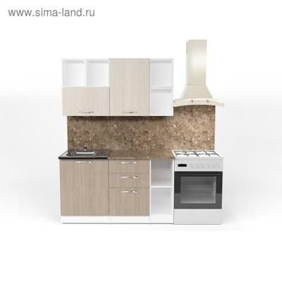 Кухонный гарнитур Ольга нормал 3 1500 мм